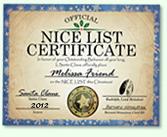 Santa Claus Nice List